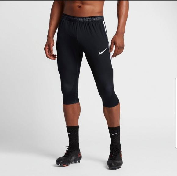 best sneakers cd8d2 8302d Nike Other - Nike Men s Dry Squad 3 4 Training Pants Black